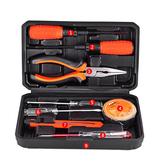 工具組手動家用工具套裝 電工工具組套木工  維修箱盒亞斯藍