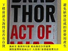 二手書博民逛書店英文原版罕見Act of War: A Thriller by