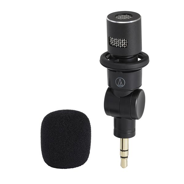 鐵三角 audio-technica AT-9912 插入式單聲麥克風 【台灣鐵三角公司貨】AT9912 MONO 錄音筆適用