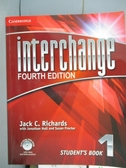 【書寶 書T5 /語言學習_XCG 】Interchange Student Book 1_Richards Hull