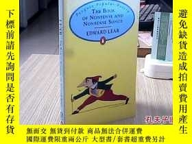 二手書博民逛書店THE罕見BOOK OF NONSENSE AND NONSEN