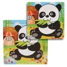 兒童動物玩具拼圖 木質拼圖幼兒童早教寶寶益智玩具2-6歲啟蒙積木 男女孩益智開發智力情感玩具