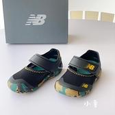 《7+1童鞋》小童 NEW IO208CK2 護趾 運動涼鞋 9592 黑色