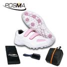 高爾夫球鞋 球鞋 時尚優雅 透氣舒適 女童鞋 GSH007WPNK