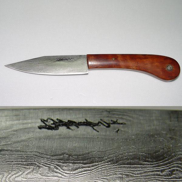 郭常喜與興達刀具--郭常喜限量手工刀品-小獵刀(A0038)