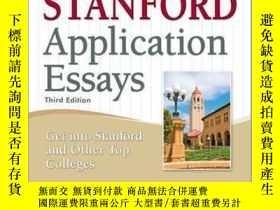 二手書博民逛書店英文原版罕見50封成功的斯坦福大學申請文書 50 Successful Stanford Application