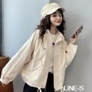 短風衣工裝外套女2020秋裝新款韓版小個子寬松百搭休閒學生上衣潮