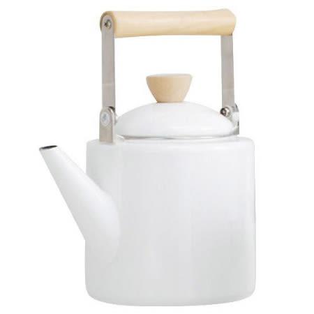 IH琺瑯茶壺A029 WH NITORI宜得利家居
