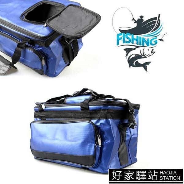 大容量加厚雙層魚護包釣魚活魚桶海釣海鮮收納包魚餌箱買菜包