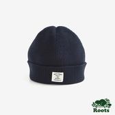 ROOTS配件- 蘭斯針織帽-藍色