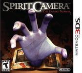 3DS Spirit Camera: The Cursed Memoir 靈異照相機 ~被附身的筆記本~(美版代購)