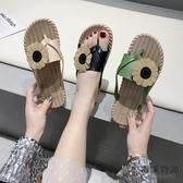 夾腳拖鞋女夏外穿百搭時尚平底防滑韓版涼拖鞋【毒家貨源】