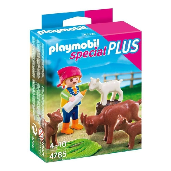 特價 playmobil special plus 摩比人 牧羊女孩與山羊_ PM04785