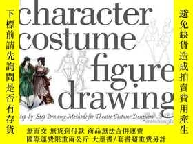 二手書博民逛書店Character罕見Costume Figure DrawingY256260 Tan Huaixiang