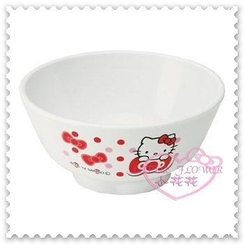 ♥小花花日本精品♥Hello Kitty 碗飯碗湯碗點心碗趴姿蝴蝶結紅色點點小熊洗碗機烘碗機可用 89902004