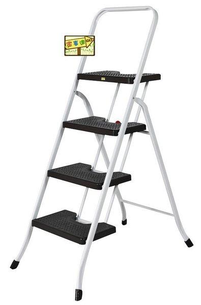 [家事達]MIT巧登欣 CTH-RT-4 豪華梯4階 特價 洗車梯 工作梯 手扶梯