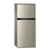 Panasonic國際牌130公升雙門變頻冰箱亮彩金NR-B139TV-R