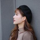 帽子女網紅款貝雷帽 時尚春秋季薄款複古英倫蓓蕾帽日繫帽子ins潮