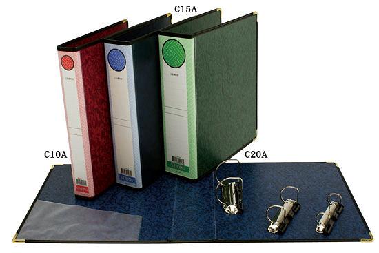 自強牌 C10A 二孔D型夾(一打裝)