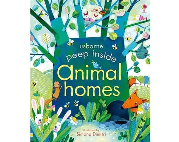 Peep Inside Animal Homes 瞧瞧看翻頁操作書:動物的家