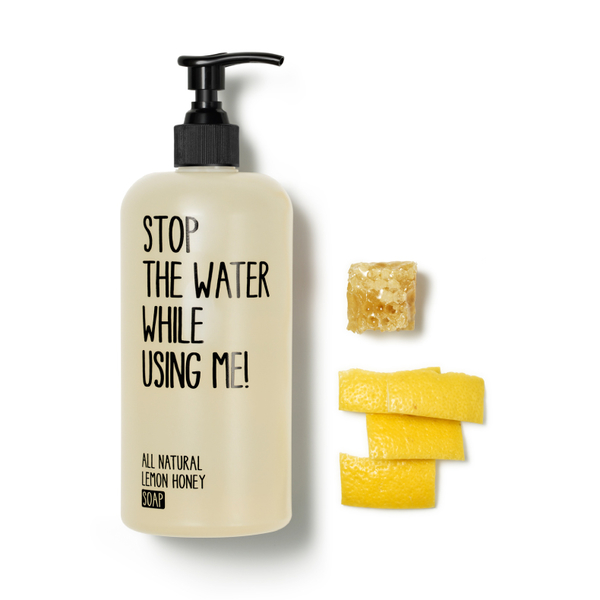 Stop the water while using me! 檸檬蜂蜜液體皂500ml