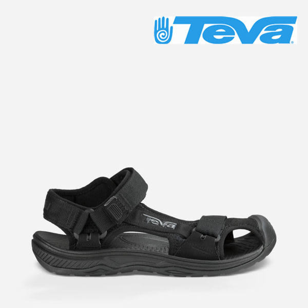 TEVA 女款 HURRICANE TOE PRO 水陸朔溪 戶外運動涼鞋 護趾涼鞋 -黑 357BBLC