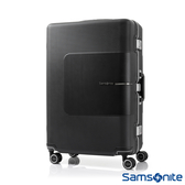 Samsonite新秀麗 28吋Tri-Tech摩登PC鋁框減震輪TSA海關鎖行李箱(霧黑)