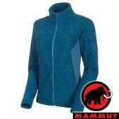 【MAMMUT 長毛象】女 Yadkin 吸濕保暖立領外套『藍寶石』1014-00880 戶外 露營 登山 防風 保暖 禦寒