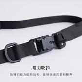 特賣腰帶磁力扣機能腰帶男女國潮潮牌戰術工裝ins暗黑工業風加長尼龍皮帶