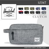 加拿大潮流品牌Herschel 皮革拉鏈時尚小包 旅遊包 10039 收納萬用包 素面/花色旅行包 防潑水手拿包