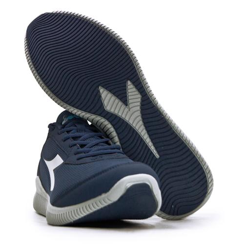 LIKA夢 DIADORA 迪亞多那 厚底輕量慢跑鞋 EAGLE 2系列 藍灰 174897-C1567 男