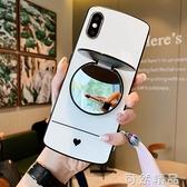 蘋果x手機殼女款iphone11網紅xr軟套xsmax全包iphonese硅膠se