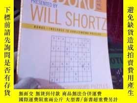 二手書博民逛書店Sudoku罕見Easy Presented by Will S