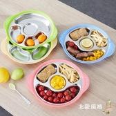 兒童餐盤onlycook304不銹鋼寶寶分格餐盤兒童餐具分格碗餐盤子兒童分菜盤