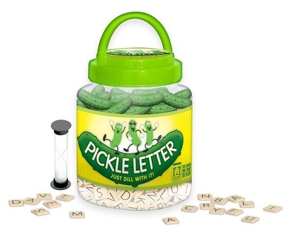 『高雄龐奇桌遊』酸黃瓜字母配對遊戲 Pickle Letter 附中文說明書 ★正版桌上遊戲專賣店★
