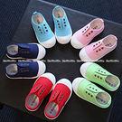 中童鞋 5色帆布休閒鞋 兒童板鞋  (1...