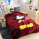 正版迪士尼授權 法蘭絨雙人暖暖被 大人小孩必備 可愛又保暖