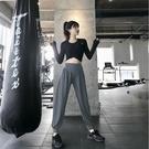 速乾運動褲 運動褲女寬鬆長褲束腳跑步健身褲跑步速干高腰瑜伽褲