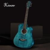 吉他 卡摩邇正品38寸41寸初學者民謠木吉他學生青少年自學男女練習入門 WJ 中秋節