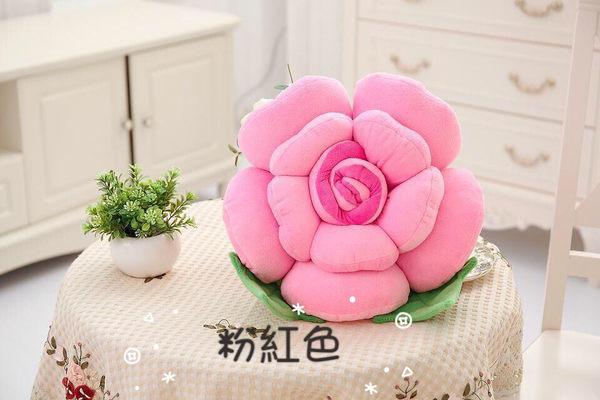 玫瑰花抱枕靠墊靠枕60公分(現+預)