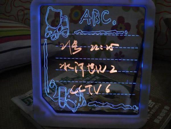 螢光寫字板 led手寫板 發光留言板 廣告牌 電子熒光板