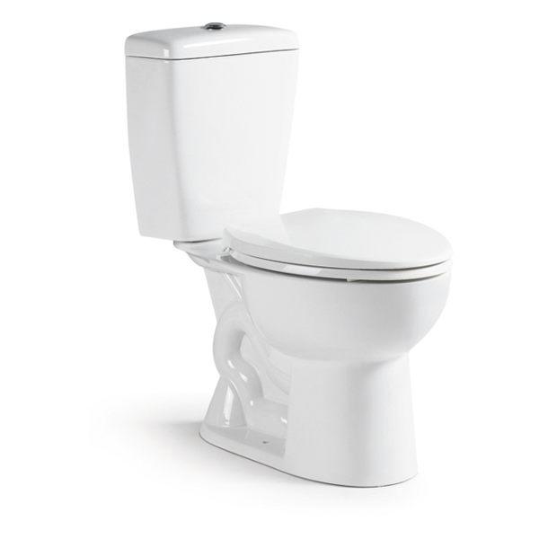 【麗室衛浴】美國KARAT凱樂 原裝進口 噴射虹吸式分體馬桶 K-2658