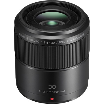 送UV保護鏡+吹球清潔組 Panasonic LUMIX G MACRO 30mm F2.8 ASPH. MEGA O.I.S. 台松公司貨(H-HS030E)
