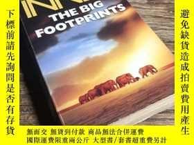 二手書博民逛書店【英文原版】The罕見Big Footprints BY Ham