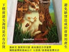 二手書博民逛書店美國小學教材:閱讀寫作1·2罕見Treasures: A Reading Language Arts 1.2(Ma