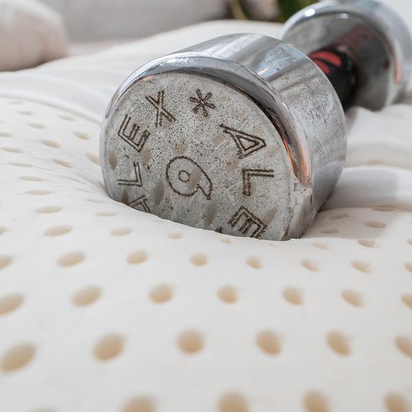泰式平面乳膠枕 60cm X 40cm X 12cm 【透氣性好、支撐性佳】台灣製 枕頭