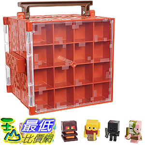 [美國直購] Minecraft DWV91 當個創世神 公仔收納箱 收藏保護殼 Mini-Figure Nether Collector Case Accessory