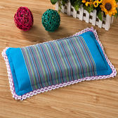 純棉老粗布蕎麥殼兒童枕頭枕芯0-3-6歲嬰幼兒寶寶護頸可拆洗枕頭-享家生活館