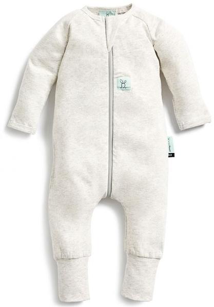 澳洲 ergoPouch 有機棉 長袖連身衣 - 麻花灰 0.2tog