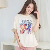 抽象畫棉質T-shirt(3色)
